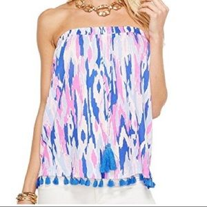 SOLD NWOT Lilly Pulitzer Palma Tube Top